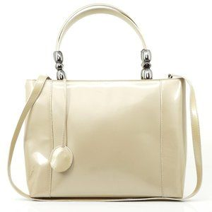 Auth Christian Dior Shoulder Bag Beige #6698C18